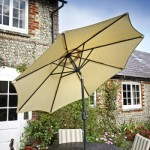 så blir ditt parasol fritt från mögel och rost